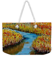 Country Creek Weekender Tote Bag