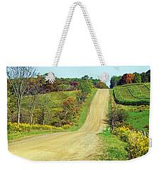 Country Days Weekender Tote Bag