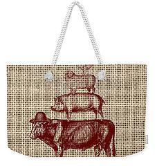 Country Farm Friends 2 Weekender Tote Bag