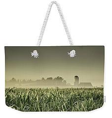 Country Farm Landscape Weekender Tote Bag