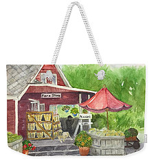 Country Farmer's Market Weekender Tote Bag