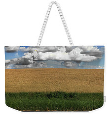Weekender Tote Bag featuring the photograph Country Field by Brian Jones