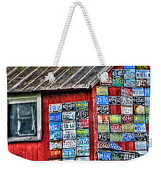 Country Graffiti Weekender Tote Bag