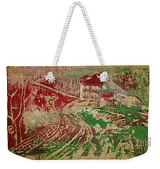 Country Home With Cottage Weekender Tote Bag