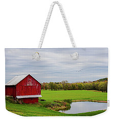 Country In Ohio Weekender Tote Bag by Mary Timman