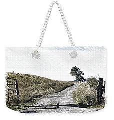 Country Lane Weekender Tote Bag