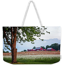 Weekender Tote Bag featuring the photograph Country Living by Everet Regal