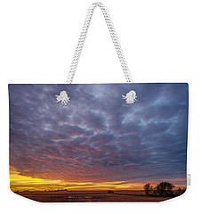 Weekender Tote Bag featuring the photograph Country Living by Sebastian Musial