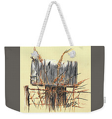 Country Mailbox In Colored Pencil Weekender Tote Bag