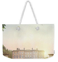 Country Mansion At Sunset Weekender Tote Bag