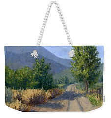 Country Morning Weekender Tote Bag