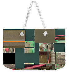 Country Mosaic Weekender Tote Bag by Andrew Drozdowicz