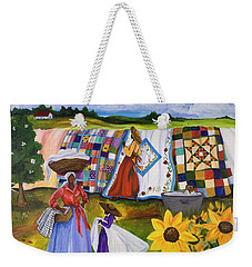 Country Quilts Weekender Tote Bag