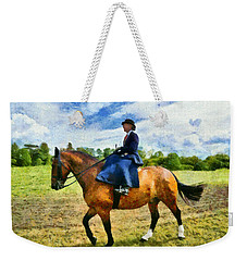 Weekender Tote Bag featuring the photograph Country Ride by Scott Carruthers