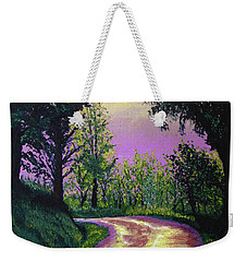 Country Road Weekender Tote Bag by Stan Hamilton