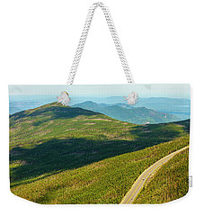 Country Road To My Home Whiteface Mountain New York Weekender Tote Bag by Paul Ge