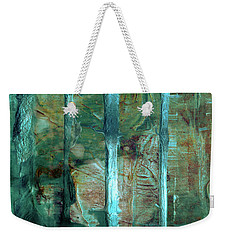 Country Roads - Abstract Landscape Painting Weekender Tote Bag