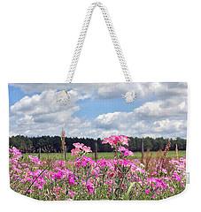 Country Roads Weekender Tote Bag by LeeAnn Kendall