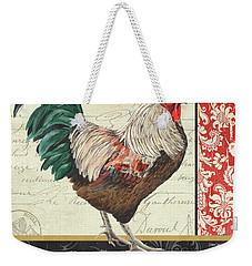 Country Rooster 1 Weekender Tote Bag