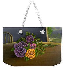 Country Roses Weekender Tote Bag