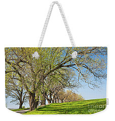Weekender Tote Bag featuring the photograph Country Spring by Alan L Graham