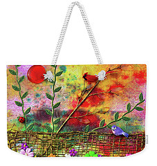 Country Sunrise Weekender Tote Bag by Donna Blackhall
