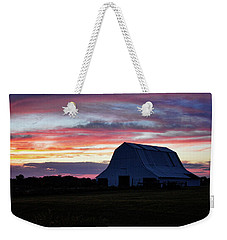 Weekender Tote Bag featuring the photograph Country Sunset by Cricket Hackmann