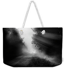 Weekender Tote Bag featuring the photograph Country Trails by Dan Jurak