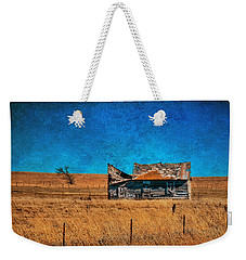 Countryside Abandoned House Weekender Tote Bag