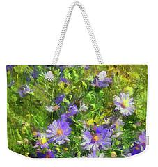 County Wild Flowers Weekender Tote Bag