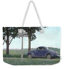Coupe In The Countryside Weekender Tote Bag