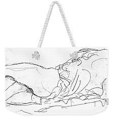 Couple In Bed Weekender Tote Bag