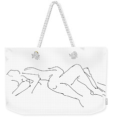 Couples Erotic Art 4 Weekender Tote Bag