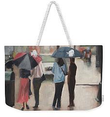 Couples Weekender Tote Bag