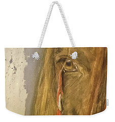 Courage Weekender Tote Bag by Annie Poitras