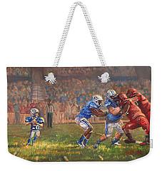 Courage To Believe Weekender Tote Bag by Jeff Brimley