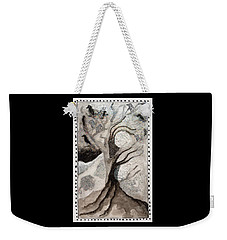 Courage To Stay In Winter Weekender Tote Bag