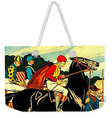 Courses De Chalon French Horse Racing 1911 II Weekender Tote Bag