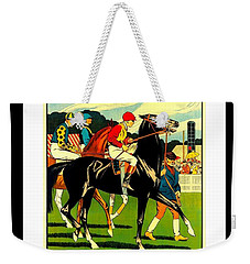 Courses De Chalon French Horse Racing 1911 II Leon Gambey Weekender Tote Bag