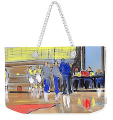 Court Side Conference Weekender Tote Bag