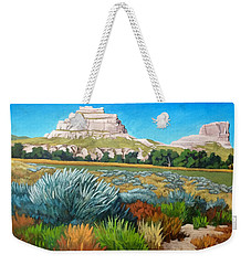 Courthouse And Jail Rocks 2 Weekender Tote Bag