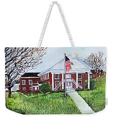 Courthouse Weekender Tote Bag