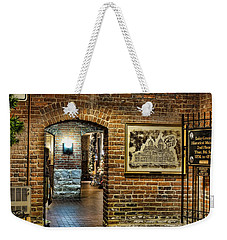 Courthouse Shops Weekender Tote Bag