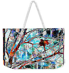 Courting Bird Weekender Tote Bag