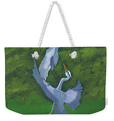 Courtship Dance Weekender Tote Bag by Mike Robles