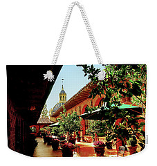 Courtyard At The Inn Weekender Tote Bag
