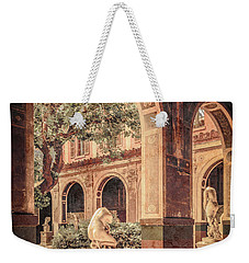 Paris, France - Courtyard West - L'ecole Des Beaux-arts Weekender Tote Bag