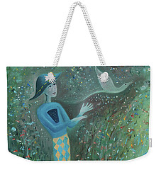 Cousin Good Shoes Sentinel Weekender Tote Bag by Tone Aanderaa