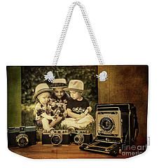 Cousins And Cameras Weekender Tote Bag