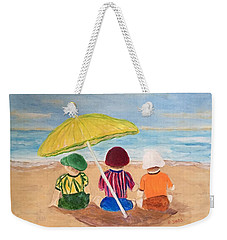 Cousins At The Beach Weekender Tote Bag